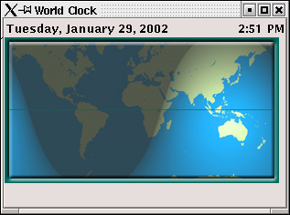 the worldclock sample full size
